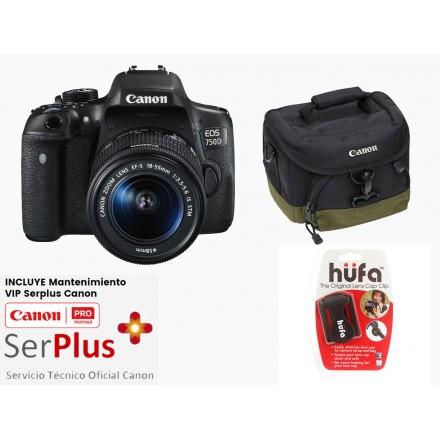 Canon EOS-750D + 18/55 IS STM + Kit Regalo