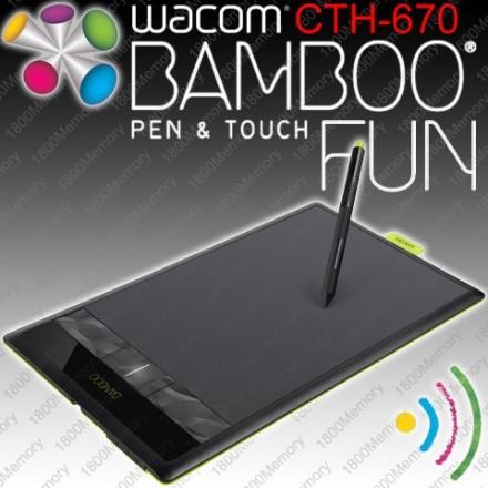 Wacom Bamboo Fun CTH-670S