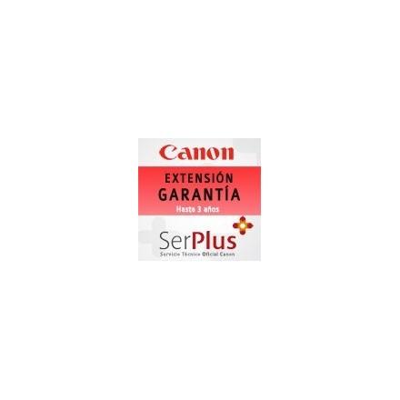 Garantía Canon Serplus3 Rojo