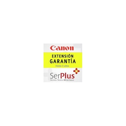 Garantía Canon Serplus3 Amarillo