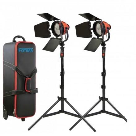 Fotima Kit 2 Focos Halogenos 800W con Dimmer