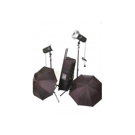 Cromalite Kit 2 Focos Studio LED 1600/100