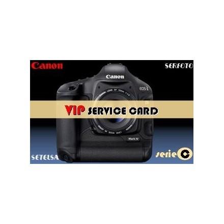 2- Canon Tarjeta mantenimiento VIP