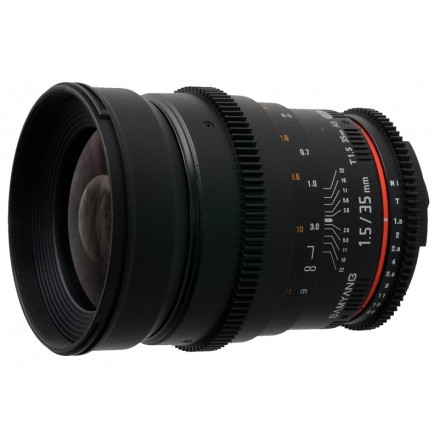 Samyang 35mm F-1.5T (Canon)