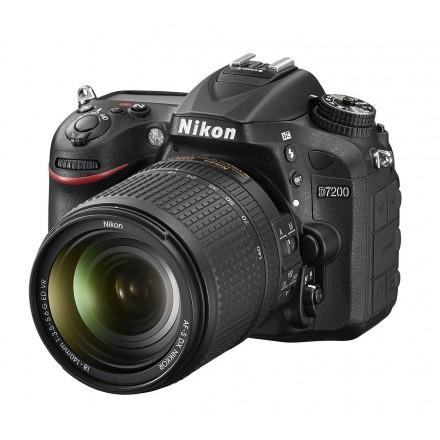 Nikon D-7200 +  AF-S 18/140 VR