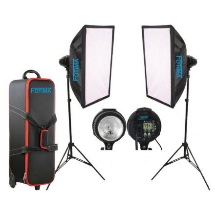 Fotima Kit Flash Estudio FTF-400 DX II