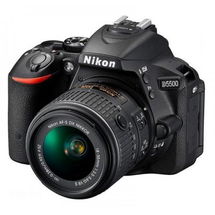Nikon D-5500 + AF-P VR 18/55 FL