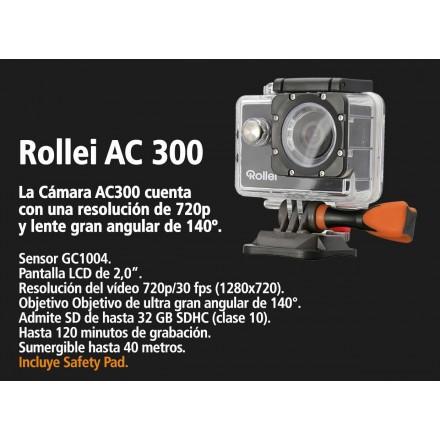 Rollei AC 300 + Jivo Kit Accesorios Cámara Acción
