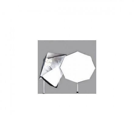 Fomex Focos Fluoespiral 4X32 W + Octagon 60cm