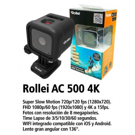 Rollei AC 500 Sunrise 4K + Jivo Kit Accesorios