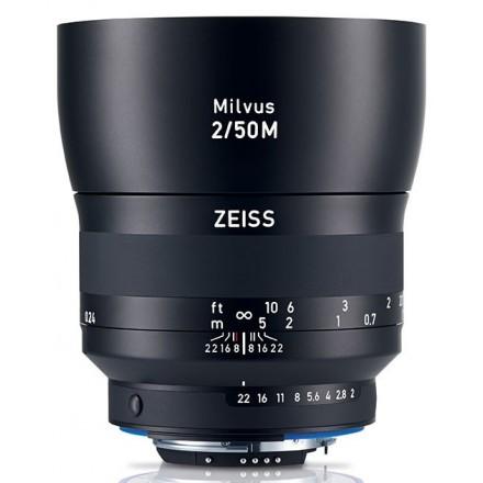 Zeiss Milvus T* 50mm F-2.0 ZF.2 Macro