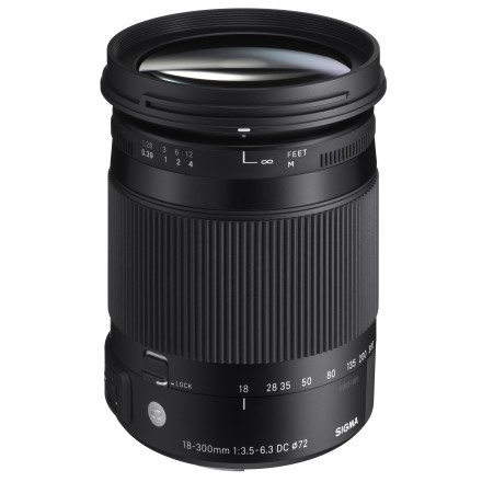 Sigma 18/300 DC OS HSM Contemporany (Canon)