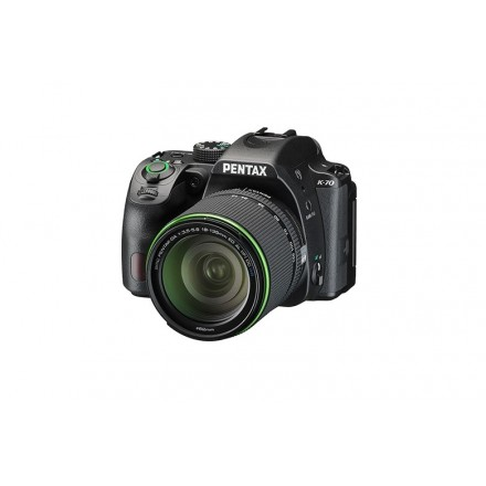 Pentax K70 + 18/135 WR