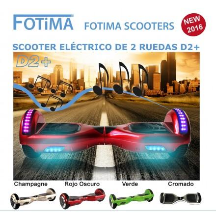 Fotima Scooter Kart D2+
