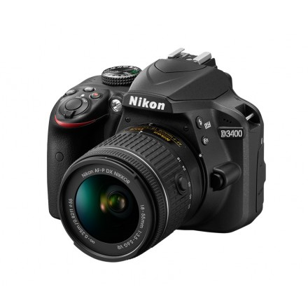 Nikon D-3400 + AF-P 18/55 L