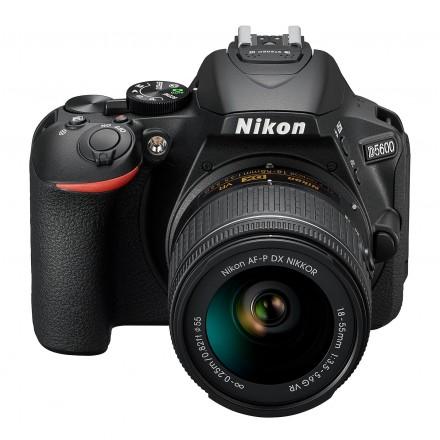 Nikon D-5600 + AF-P VR 18/55 FL