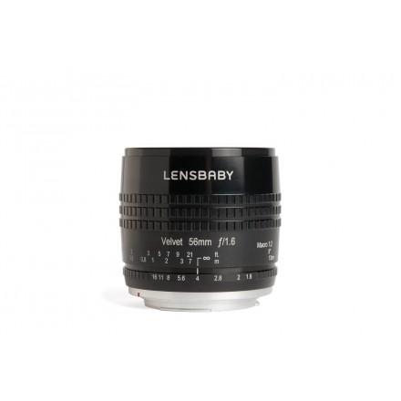 Lensbaby Velvet 56mm F-1.6 (Canon)