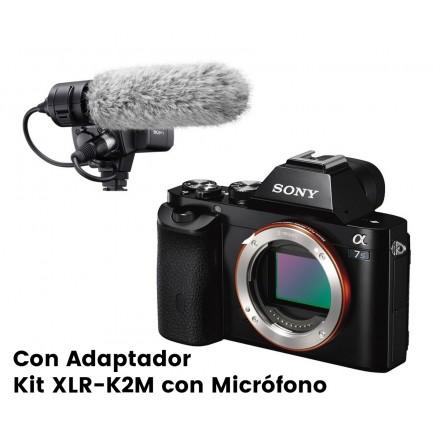 Sony α7S M II (Cuerpo) + Adaptador Kit XLR-K2M con Micrófono