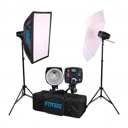 Fotima Kit Flash Estudio PRO 2x180W FTF-180