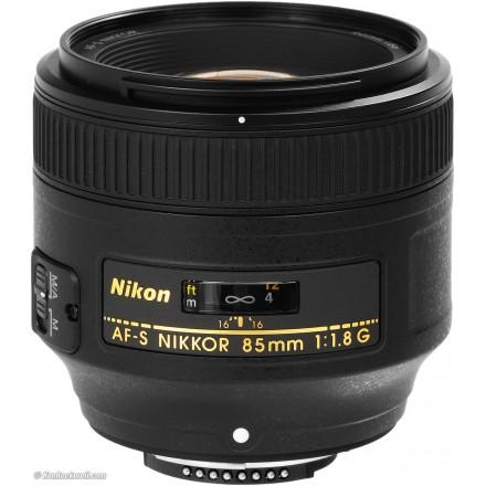 Nikon AF-S 85/1.8 G