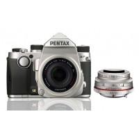 Pentax KP Silver Limited Edition + DA 21mm F-3.2 AL