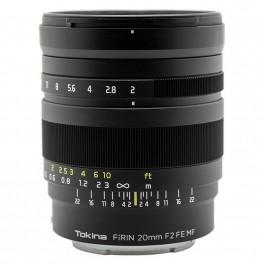 Tokina Firin 20mm F-2 FE MF