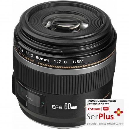 Canon EF-60mm F-2.8 USM Macro