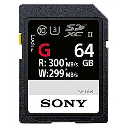Sony SDXC UHS-II 64GB (SF-G64/T1)