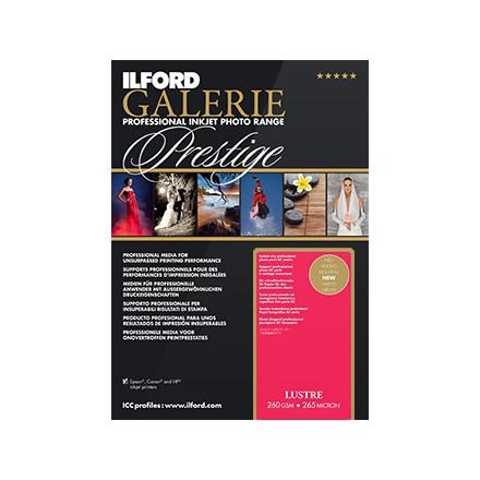 Ilford Galerie Prestige A4 (210 x 297mm) Lustre 260 GSM - 265 Micron