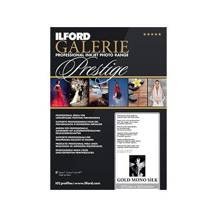 Ilford Galerie Prestige A4 (210x297) Mono Silk Warmtone 250 GSM - 230 Micron