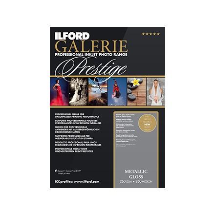 Ilford Galerie Prestige A4 (210x297) Metallic Gloss 260 GSM - 260 Micron