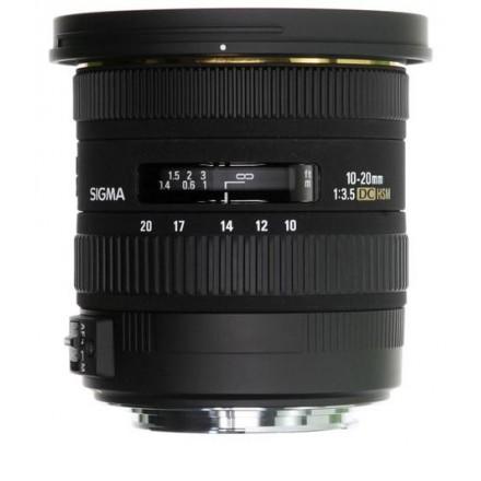 Sigma 10/20 F.4-5.6 EX DC HSM Canon