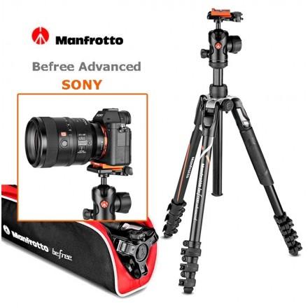 Manfrotto BeFree Advanced MKBFRLA-BH para Sony