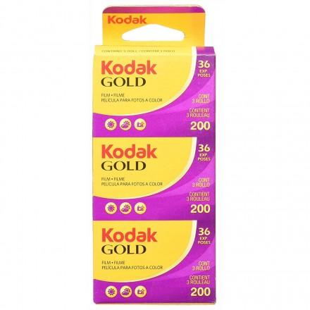 Kodak Gold 200 - 36 (X3) Color