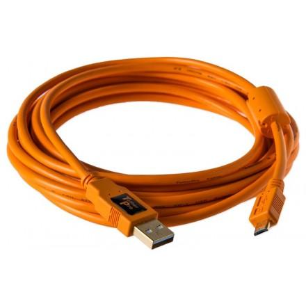 "TetherPro USB-C Cable (USB-C Micro B / 15"" (4.6m))"