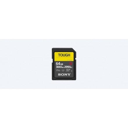 Sony SD Tough 64GB - 300 R:MB/s - 299 W:MB/s (SF-G64T/T1)
