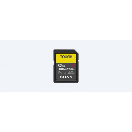 Sony SD Tough 64GB - 300 R:MB/s - 299 W:MB/s (SF-G64T/T1)