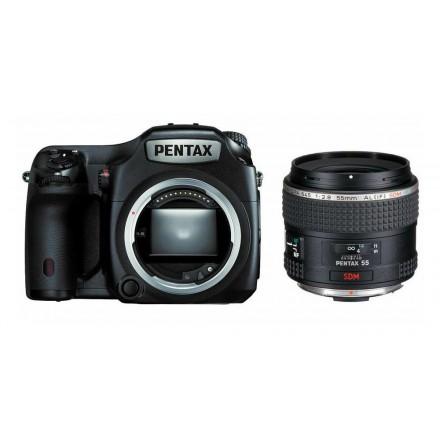Pentax 645Z + 55mm F-1.8