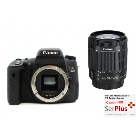 Canon EOS-760D + 18/55 IS