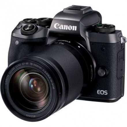 Canon EOS-M5 + 18/150 IS STM + Adaptador EOS