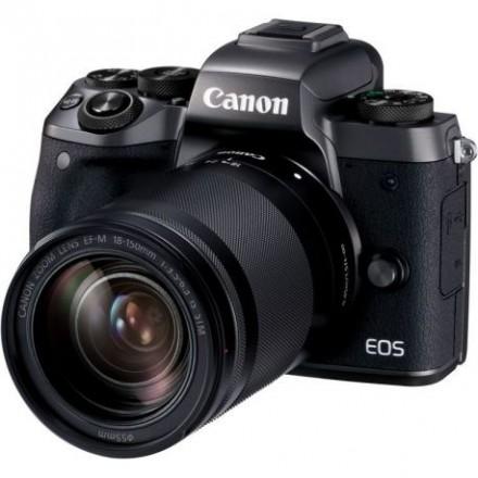 Canon EOS-M5 + 18/150 IS STM + Adaptador EOS