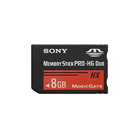 Sony Memory Stick Pro - HG Duo 8GB (MS-HX8B)