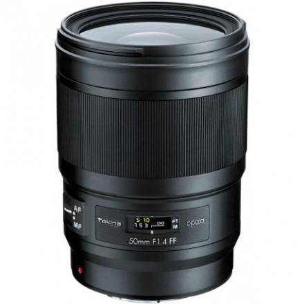 Tokina Opera 50mm F-1.4 FF (Full Frame Canon)