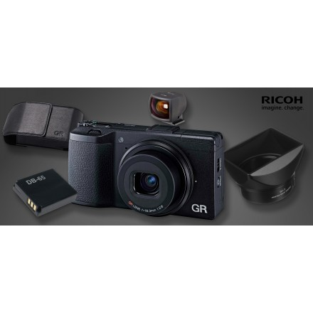 Ricoh GR II + Kit Especial (Bajo Pedido)