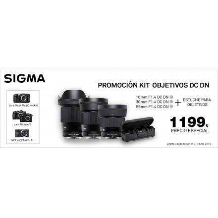 Sigma Objetivos DC DN Kit Especial