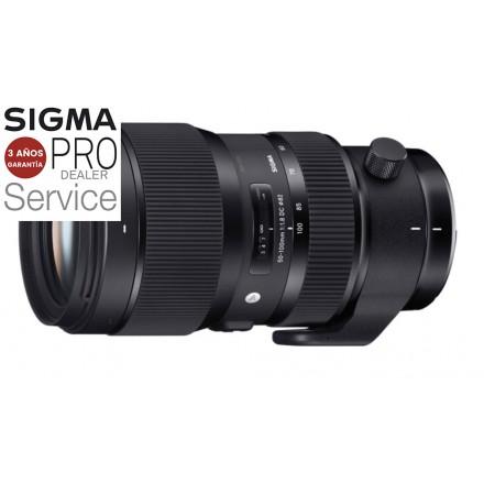 Sigma 50/100 F-1.8 DC Art