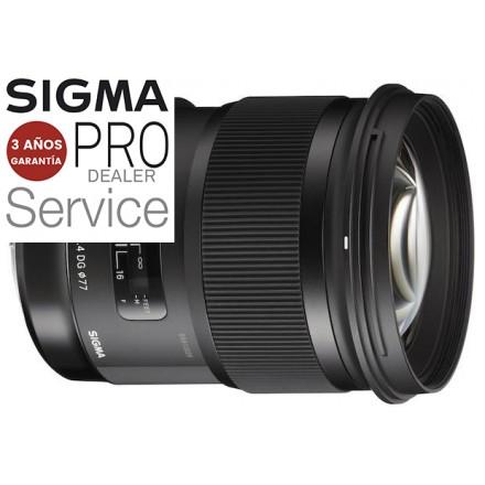 Sigma 50mm F-1.4 DG HSM ART + Convertidor Sigma MC11
