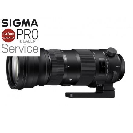 Sigma 150/600 F-5-6.3 DG OS HSM (Sports)