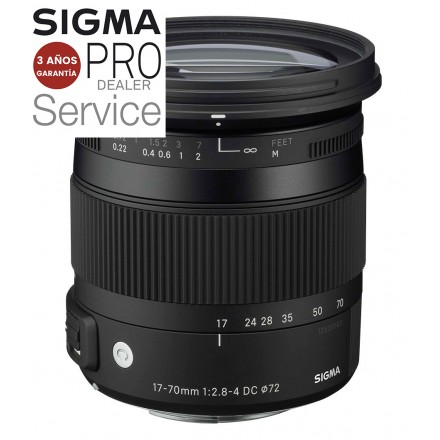 Sigma 17/70mm F2.8-4 DC MACRO OS HSM CONTEMPORARY