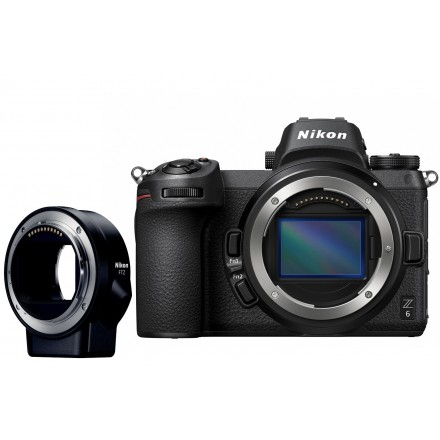 Nikon Z6 + 24/70 F-4 S + Kit FTZ (En Stock)